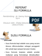 Referat Susu Formula Ppt