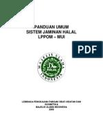 Pedoman Sistem Jaminan Halal