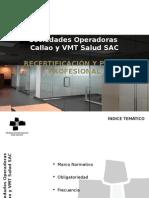 Recertificación y Perfil Profesional (Jorge Cordero)