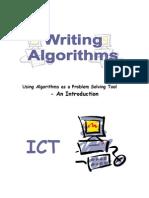 Writing Algorithms