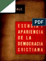 Esencia y Apariencia de La Democracia Cristiana (L. Vitale)