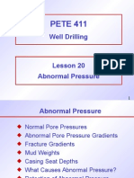 Tech Drilling AbnormalPress