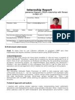 TEEP Internship Report