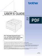 Brother HL-5240, HL-5250DN series user's guide