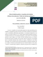 """Kant Esbozo de Un Discurso """"Sobre Las Ficciones Poéticas"""")"""