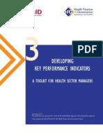 03 Developing Key Performance Indicators
