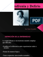 Esquizofrenia y Delirio-paris