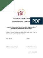 Diseño de un sistema de cálculo de costes y de gestión para la empresa Hijos de Sucesores de Luis Mira S.L.