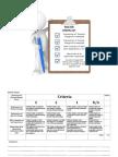 science assessment criteria