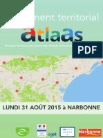 Lancement de l'ATLAAS - 31 août 2015