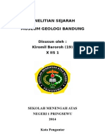 Penelitian Sejarah (Museum Geologi Bandung)
