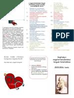 Magatartástudományi tárgyak felvételének rendje 2015/2016