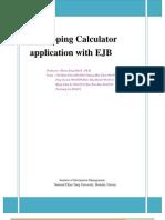 Middleware Programming - EJB