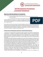 Historia Del Movimiento Feminista y Economía Feminista (UJCE)