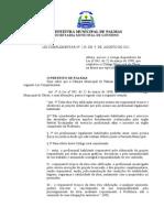 LEI COMPLEMENTAR Nº 229 de 09-08-2011 14-24-1