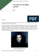 Os Tempos Hipermodernos de Gilles Lipovetsky – Resenha _ Colunas Tortas