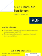 unit 9 - 9 3 ad - as   short-run equilibrium