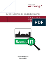 Raport Szczecin ZWiK