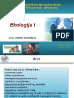 EKOLOGIJA - 1i2osnovni Pojmovi