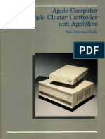 ApSales Reference Guide ple Cluster Controller and Appleline Sales Reference Guide Jul84