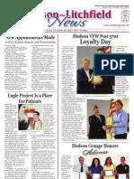Hudson~Litchfield News 5-08-2009