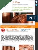 Bare Copper Wire Manufacturing Company