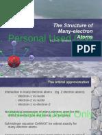 KI2141-2015 SIK Lecture03b MultiElectronAtom