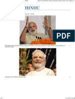 As It Happened_ Modi Adopts Jayapur Village - The Hindu