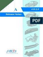 Ansa v13.1.0 Release Notes