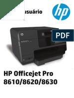 Manual HP 8610