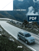 Jeep Grand Cherokee Catalog (2015)