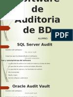 Software de Auditoria de BD