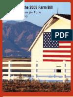 Farm Bill Brochure August 2008 | American Farmland Trust