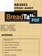 SG12 Team 4 Strategic Audit - BreadTalk