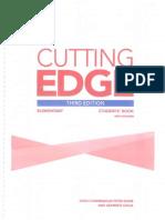 Cutting Edge 3 Edicion Rojo Libro