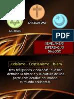 Judaismo Cristianismo Islamismo