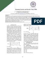 Design of (7, 4) Hamming Encoder and Decoder Using VHDL