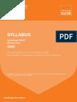 IGCSE Mathematics 2016 Syllabus