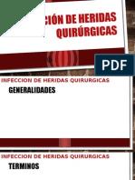 Infección de Heridas Quirúrgicas