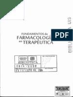 Fundamentos en Farmacologia en Terapeutica