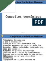 Aula Conjuntura Econômica e Mercado