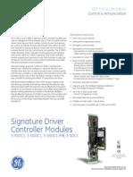 3-SSDC Signature Driver Controller Modules