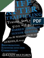 Human Trafficking Forum Flyer