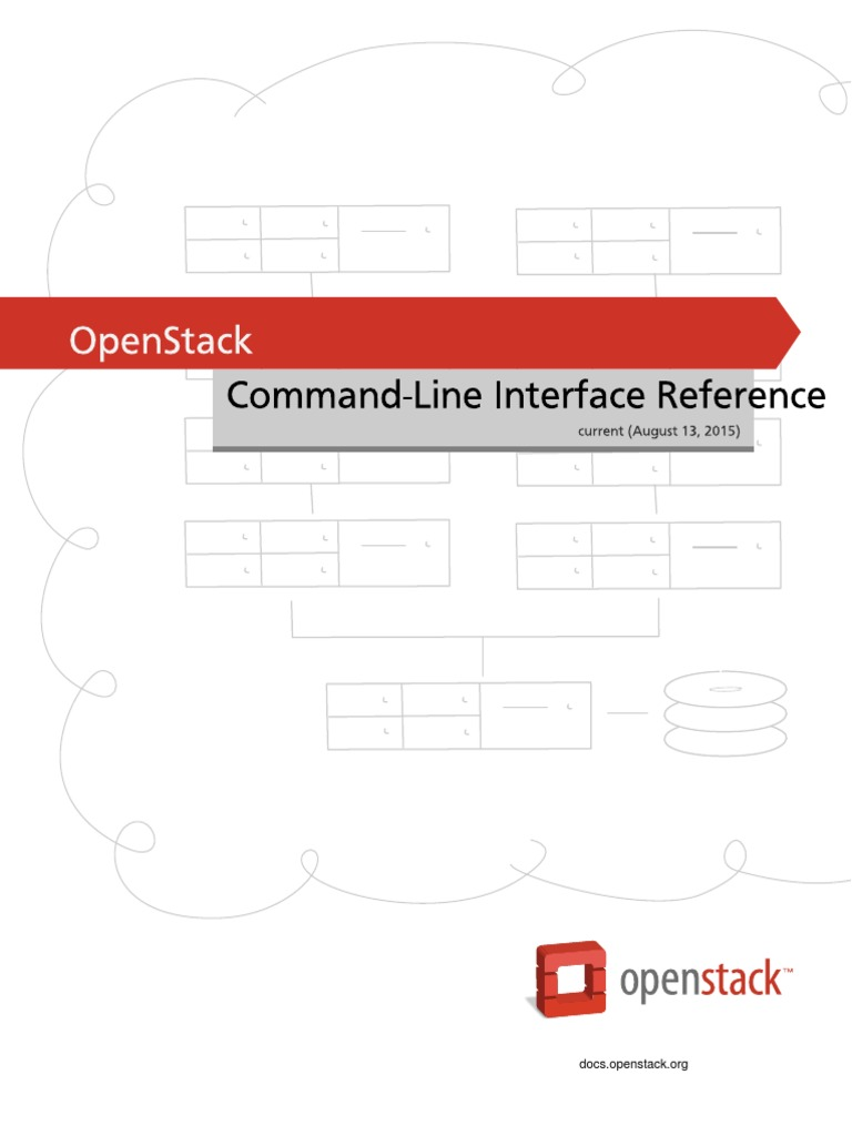 OpenStack Command-Line Interface Reference | Command Line