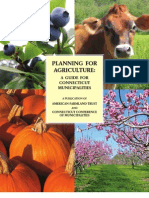 Planning for Agriculture