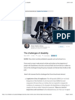 The challenges of disability.   Albert Vilariño Alonso   LinkedIn