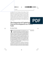 2001 -- Weeks - The Expansion of Capital and Uneven Development on a World Scale