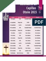 Calendario de Capillas Otoño 2015