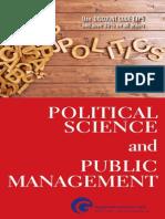 Political Science and Public Management Catalog 2016