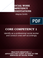 competency presentations